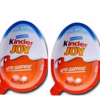 Bộ 2 trứng kinder joy bé trai (xanh)
