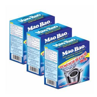Bộ 3 Hộp chất làm sạch lồng máy giặt Mao Bao