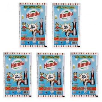 Bộ 5 gói 100g bột thông cống TI151 (Xanh)
