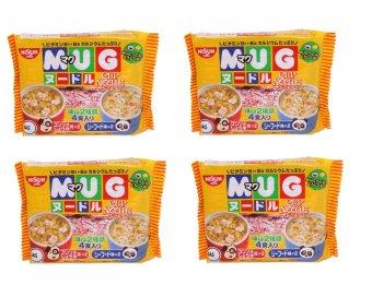 Bộ 4 gói mỳ Mug 300g (Vàng)