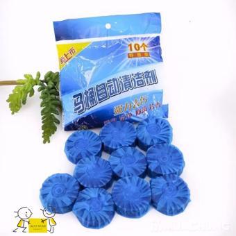 Bộ 10 Viên Khử Mùi Tẩy Bồn Cầu Thế Hệ Mới