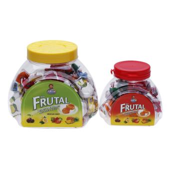 Bộ 2 hộp kẹo Rellenos Frutales mẹ con 250g và 90g