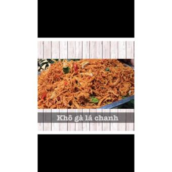 Combo hộp 1kg khô gà lá chanh (cay)
