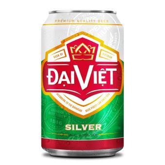 Bia Silver Đại Việt - Thùng 24 lon 330ml
