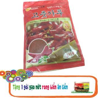 Bột ớt nguyên chất Hàn Quốc muối KimChi 500g + Tặng 1 gói gạo nứt rong biển ăn liền 200g