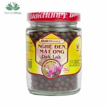 Hủ nghệ đen mật ong Đắk Lắk 120gram