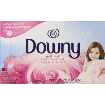 Giấy ủ thơm quần áo Downy April Fresh Fraicheur 80 tờ