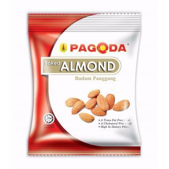 Hạt hạnh nhân sấy nguyên chất Pagoda Food Malaysia