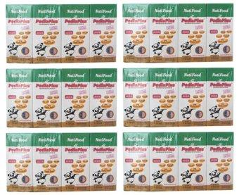 Bộ 6 lốc 4 sữa Nutifood Pedia Plus 180ml