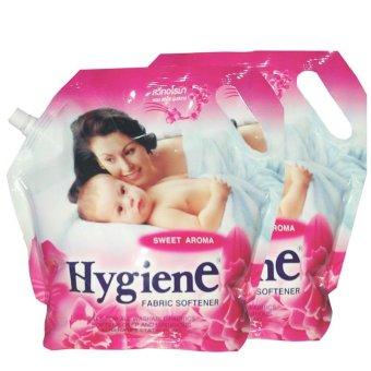 Bộ 2 Bịch Nước Xả Hygiene Đâm Đặc 1.8 Lít (Hồng)