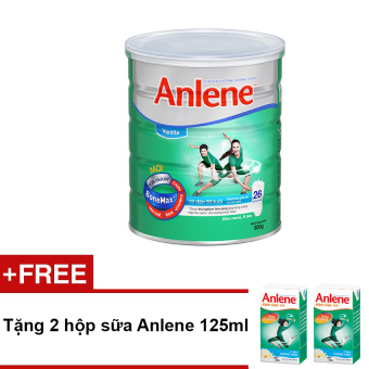 Sữa bột Anlene Regular Bonemax Vanilla 800g + Tặng 2 hộp sữa Anlene 125ml