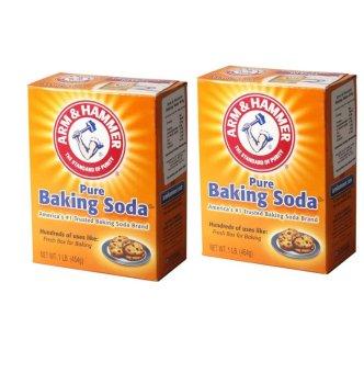 Bộ 2 Bột Baking Soda đa công dụng 454g