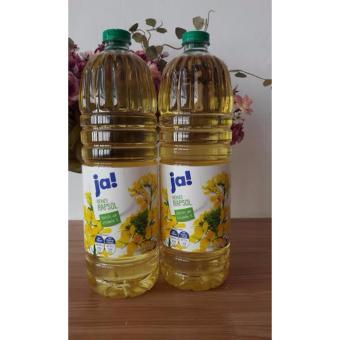 Bộ 2 chai dầu ăn hạt cải JA nhập từ Đức 2x1000ml