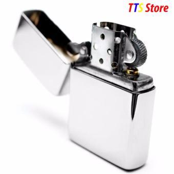 Mua Bật lửa đá xăng Classic Cổ Điển TTS Store (Trắng) giá tốt nhất