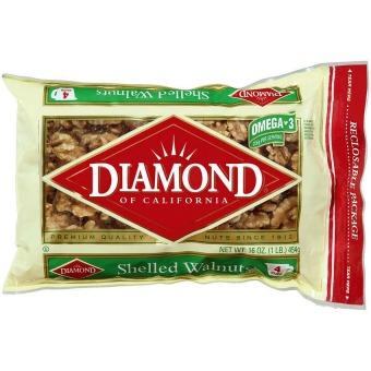 Nhân hạt óc chó cao cấp Diamond of California 454g