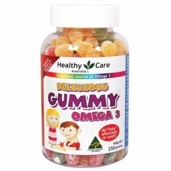 keo Gummy omega 3 của Healthy Care 250 viên