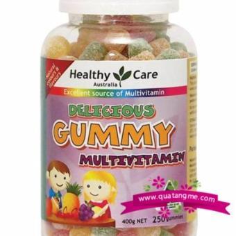 Kẹo vitamin tổng hợp bổ sung vitamin cho bé Delicious Gummy Multivitamin - 400gr (250v)