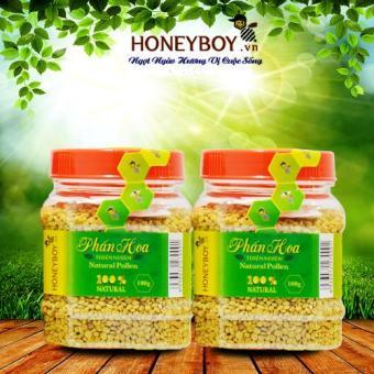 Combo 2 Phấn hoa thiên nhiên Honeyboy 100g