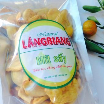 Bộ Mít Sấy (200gr) - Khoai Lang Tím (300gr)