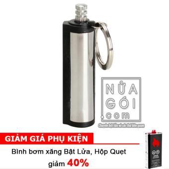 Diêm chịu nước quẹt bằng xăng độc đáo F589 + Bình bơm xăng thơm Bật Lửa 125ml
