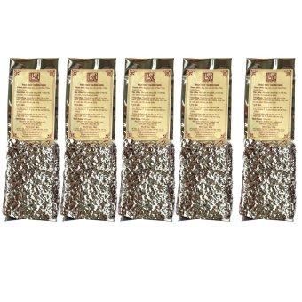 Bộ 5 gói trà Ngọc Thúy thượng hạng Bạch Hạc Trà 100g (túi hút chân không)