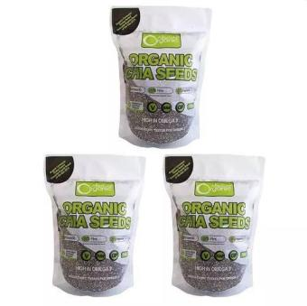Bộ 3 Gói Hạt Chia Absolute Organic 1kg (Nhập Úc)