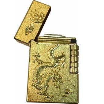 Mua Bật lửa dùng gas khắc hình rồng vàng giá tốt nhất