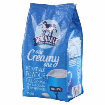 Sữa Bột Nguyên Kem Sữa Bột Full Cream Devondale 1Kg (Hàng nhập khẩu)