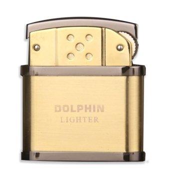 Bật Lửa Cối Dolphin Classical F501 (Vàng)