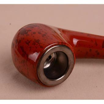 Tẩu thuốc lá sợi 2 khúc tháo rời sang trọng đẳng cấp Xigar F184 (Nâu)