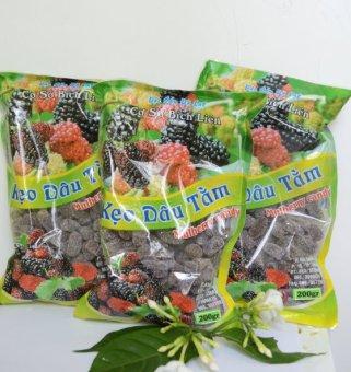 Bộ 3 gói kẹo dâu tằm Đà Lạt 200g