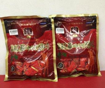 Bộ 2 gói kẹo hồng sâm Vitamin Korea Red Ginseng 200g