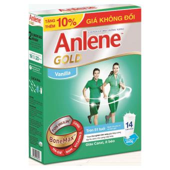 Anlene Gold Bonemax Vanilla 440g (Hộp)