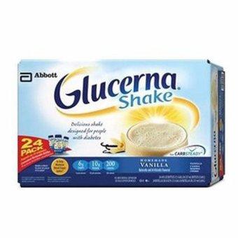 Thùng 24 chai sữa dành cho người bị bệnh tiểu đường Glucerna 237ml
