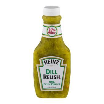 Heinz sốt dưa chuột chua nhập trực tiếp từ Mỹ - 375ml