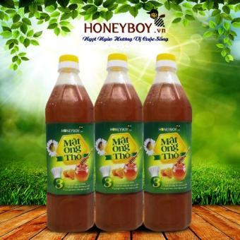 Bộ 3 Mật ong Thô Honeyboy 1000ml
