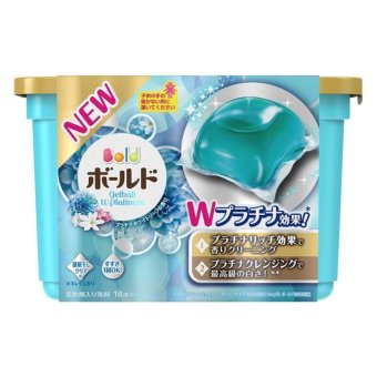 Nước Giặt Và Xả Gel Ball Xanh – Sản Xuất Tại Nhật Bản