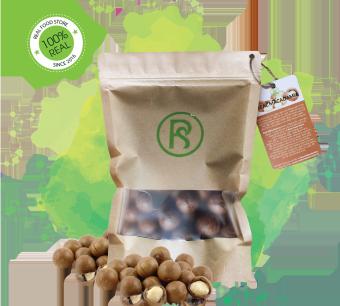 Mua Hạt macca nứt vỏ tự nhiên Real Macadamia (500G) giá tốt nhất
