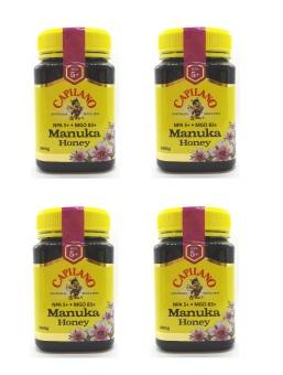 Bộ 4 hộp mật ong Capilano Manuka 500g