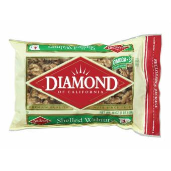 Hạt óc chó Diamond Of California Shelled Walnuts 454g