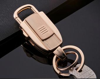 Mua Bật lửa usb móc khóa không cần gas Fullbox JB980 (Vàng) giá tốt nhất