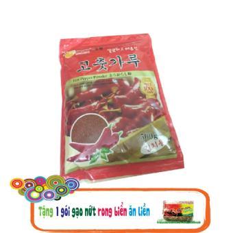 Ớt bột nguyên chất Hàn Quốc muối KimChi 500kg + Tặng 1 gói gạo nứt rong biển ăn liền 200g