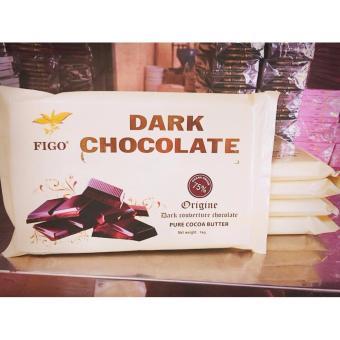Bộ combo 5kg Chocolate làm bánh 75% cacao Figo