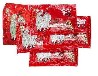 Bộ 5 Kẹo Hồng Sâm Ông Già Bà Lão 200g