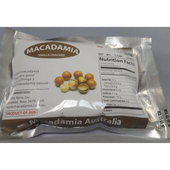 Bộ 10 gói Hạt mắc ca Macadamia nứt vỏ 500g (nhập Úc)