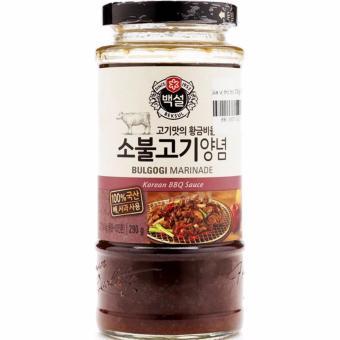 Sốt BBQ thịt bò Bulgogi Marinade Beksul Hàn Quốc đặc biệt lọ 290g