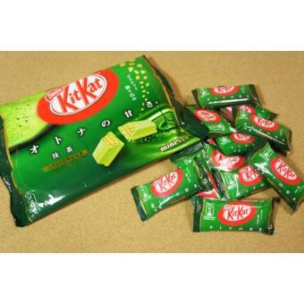 Bánh chocolate Kitkat trà xanh gói 12 thanh(nhật)