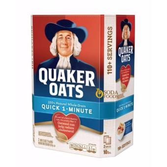 Yến mạch Quaker Oats 4,52kg (cán vỡ)