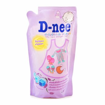 Dung dịch giặt xả quần áo D-nee Yellow Moon 600ml