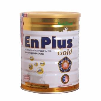 Sữa bột Nutifood Enplus Gold 900g tăng cường thể lực, trí nào, tim mạch